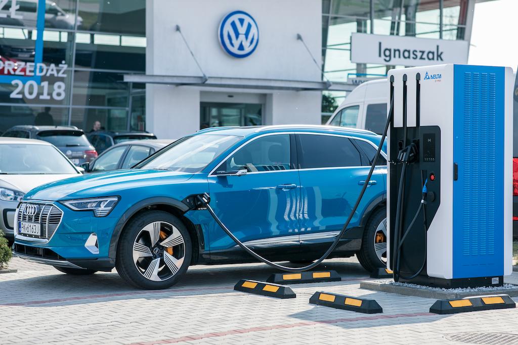 Arinea stacje ładowania Audi Ignaszak Kalisz