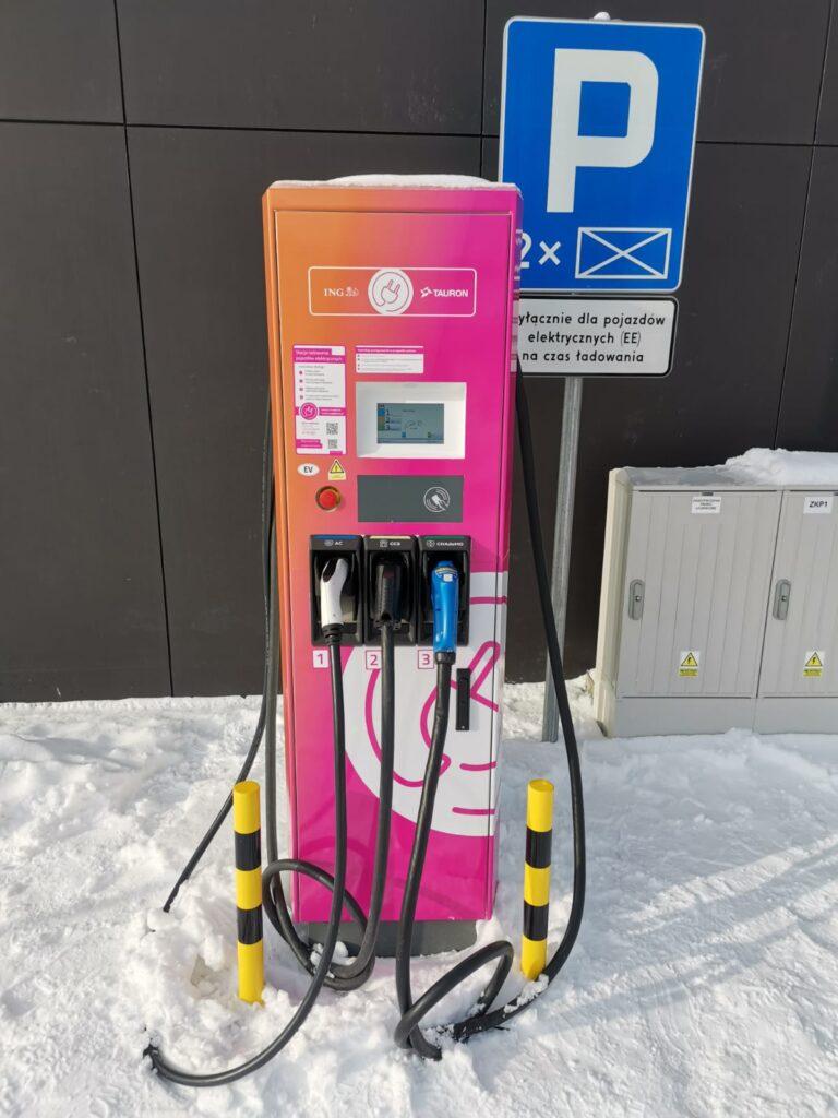 Stacja ładowania samochodów elektrycznych Arinea